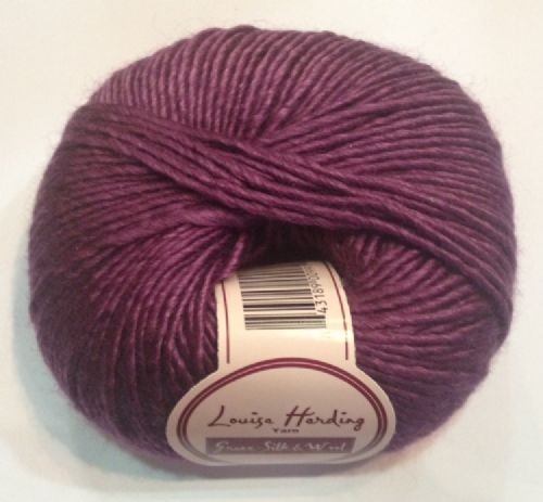Louisa Harding Grace silk & wool - Purple
